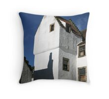 Old Houses of Culross, Fife, Scotland Throw Pillow