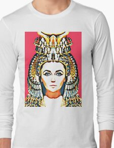 Elizabeth Taylor, alias in Cleopatra Long Sleeve T-Shirt