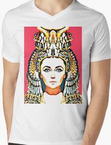 Elizabeth Taylor, alias in Cleopatra Mens V-Neck T-Shirt