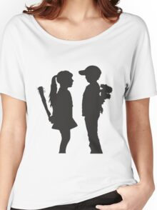 Boy and Girl Women's Relaxed Fit T-Shirt