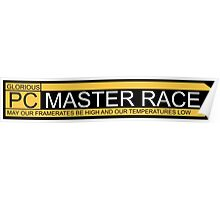 PC Master Race Logo  Poster