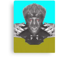 Lon Chaney Jr, alias in The Wolf Man Canvas Print