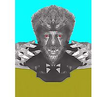 Lon Chaney Jr, alias in The Wolf Man Photographic Print