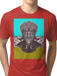 Lon Chaney Jr, alias in The Wolf Man Tri-blend T-Shirt