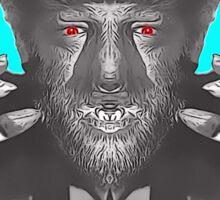 Lon Chaney Jr, alias in The Wolf Man Sticker