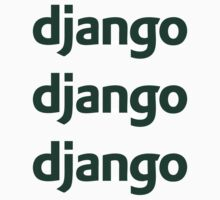 Django ×3 by csyz ★ $1.49 stickers