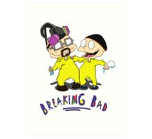 Rugrats/Breaking Bad - Chefs Art Print