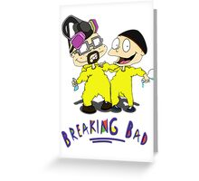 Rugrats/Breaking Bad - Chefs Greeting Card