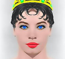 Leslie Caron, alias in The Glass Slipper by Art Cinema Gallery