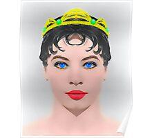 Leslie Caron, alias in The Glass Slipper Poster