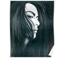 Atsushi Sakurai 2 illustration by Dori Hartley Poster