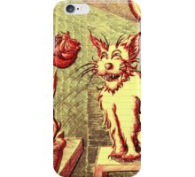 Lusty ~ The Cat and The Rose iPhone Case/Skin