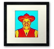Henry Fonda, alias in My Darling Clementine Framed Print