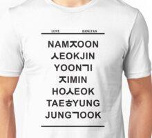 love bangtan v2 Unisex T-Shirt