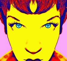 Shirley MacLaine, alias Sticker