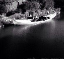 Venice Canal Stroll, by Gennifer Lynne Wecker by MobiTog