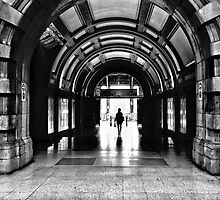 Into the Light - Central Station Sydney, by Mel Harrison by MobiTog