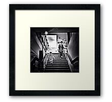 Hurry Mum, Let's Spend Dad's Money, by Chris Wadsworth Framed Print