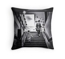Hurry Mum, Let's Spend Dad's Money, by Chris Wadsworth Throw Pillow