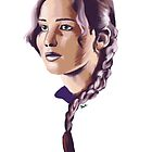 Katniss by Katie Fleming