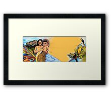 a grandson is born - from wings and dreams Framed Print