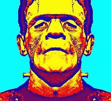 Boris Karloff, alias in The Bride of Frankenstein by Art Cinema Gallery