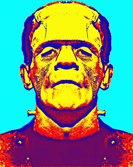 Boris Karloff, alias in The Bride of Frankenstein by Art Cinema Gallery