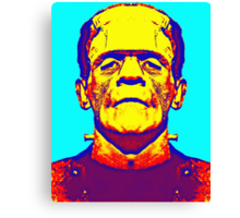Boris Karloff, alias in The Bride of Frankenstein Canvas Print