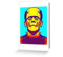 Boris Karloff, alias in The Bride of Frankenstein Greeting Card