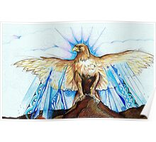 golden bird - from wings and dreams Poster