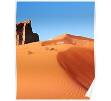 Towering Red Sand Dune, Monument Valley Arizona Poster