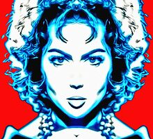 Sara Montiel, alias in Carmen la de Ronda by Art Cinema Gallery