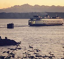 Edmonds Ferry by dbrender