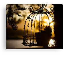 Caged Nature Canvas Print