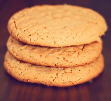 Peanut Butter Cookies by dbrender