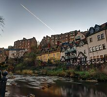 Sunrise Over The Water of Leith at Dean Village, Edinburgh by Miles Gray