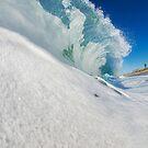 Carlsbad Shore Break by Flux Photography