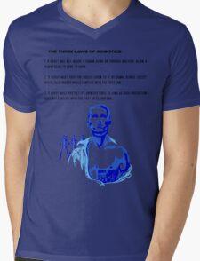 Three Laws of Robotics Mens V-Neck T-Shirt