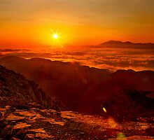 Crete above the clouds by Hercules Milas