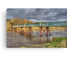 Denny Beck Bridge Canvas Print