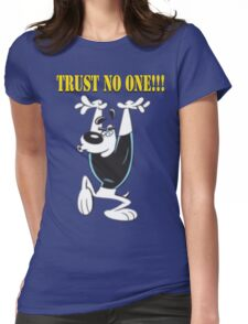 TUFF Puppy - Trust No One Womens Fitted T-Shirt