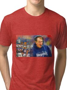 Legend Bill Belichick New England Patriots Tri-blend T-Shirt