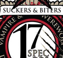 Biters & Suckers Sticker