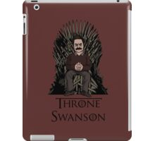 Throne Swanson iPad Case/Skin