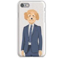Posing Poodle iPhone Case/Skin