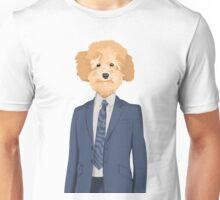 Posing Poodle Unisex T-Shirt