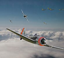 Fw 190 - P47 - Strike Back by warbirds