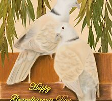 Grandparents Day Grandma Doves by jkartlife
