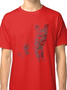 Psychedelic Feline Classic T-Shirt