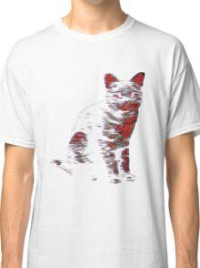 Psychedelic Feline Classic T-Shirt